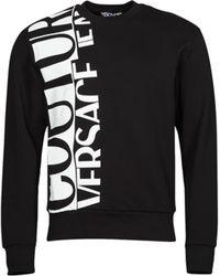 Versace Jeans Couture Sweatshirt LOGO STORY - Schwarz