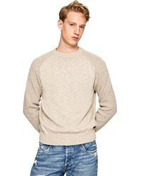 Pepe Jeans Pm701989 Jumper - Natural
