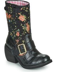Irregular Choice Boots - Noir