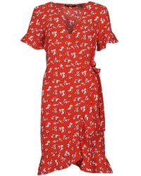Vero Moda VMSAGA Robe - Rouge