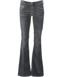 DIESEL Jeans Bootcut D-Ebbey - Nero