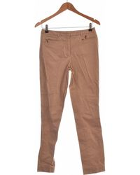 Gerard Darel Pantalon Droit Femme 34 - T0 - Xs Pantalon - Gris