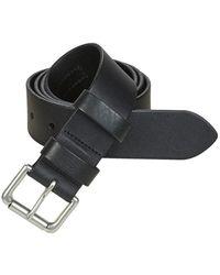 Polo Ralph Lauren Riem 1 1/2 Roller-casual-smooth Leather - Zwart