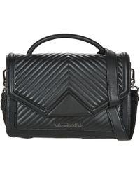 Karl Lagerfeld K/kmassic Quilted Women's Shoulder Bag In Black
