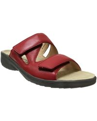 Mobils By Mephisto Mules Geva - Rouge