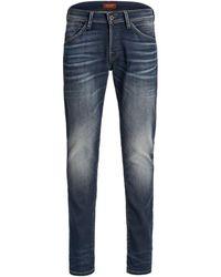 Jack & Jones 12175477 JJIGLENN JJFOX JJ 240 IK ESP BLUE DENIM Jeans - Bleu