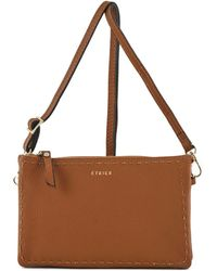 Etrier - Sac bandoulière Tradition cuir TRADITION 709-00EHER30 Sac Bandouliere - Lyst