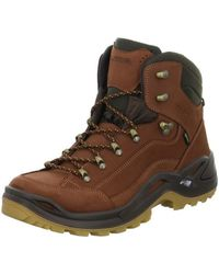 Lowa | Renegade Gtx Mid Men's Walking Boots In Brown | Lyst
