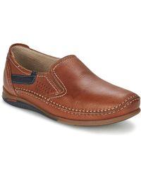 Fluchos - Catamaran Men's Slip-ons (shoes) In Brown - Lyst