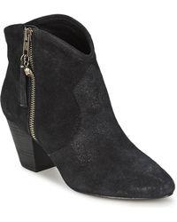 Ash - Jess Women's Low Ankle Boots In Black - Lyst