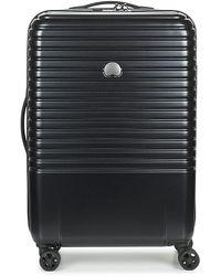 Delsey Reiskoffer Caumartin + 4dr 65cm - Zwart