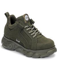 Buffalo Lage Sneakers Corin - Groen