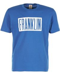 Franklin & Marshall - Ofli Gama Men's T Shirt In Blue - Lyst
