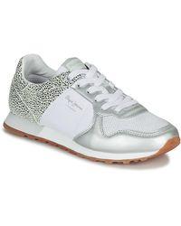 Pepe Jeans Lage Sneakers Verona - Wit