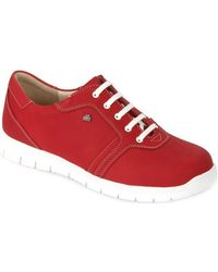 Finn Comfort - Biscaya Indianred Petka Women's Shoes (trainers) In Red - Lyst