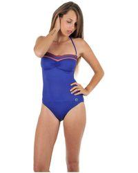 Morgan Maillot de bain 1 pièce bustier portofino Maillots de bain - Bleu