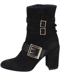Liu Jo - Ankle Boots Suede Low Ankle Boots - Lyst