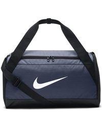 Nike Brasilia Duffel Handbags - Blue