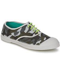 Bensimon Lage Sneakers Tennis Camofluo - Meerkleurig