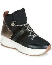 See By Chloé Hoge Sneakers Casey - Zwart