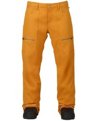 Burton Women's Lucky Snowboard Pant Pantalon - Orange