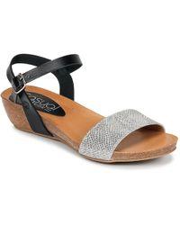 Casual Attitude - Iderer Women's Sandals In Silver - Lyst