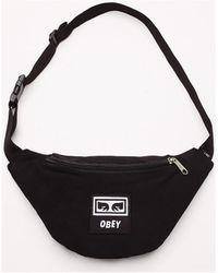Obey Heuptas Wasted Hip Bag - Zwart