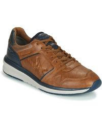 Allrounder By Mephisto Lage Sneakers El Paso - Bruin