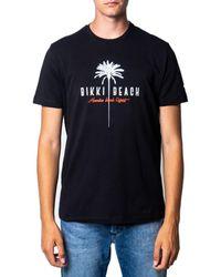 Bikkembergs C7001D5E1823 T-shirt - Noir