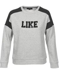 American Retro - Rafi Women's Sweatshirt In Grey - Lyst