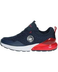 Beverly Hills Polo Club BH425 Sneakers Bleu Chaussures