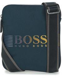 BOSS by HUGO BOSS Bolso PIXEL DD S ZIP ENV - Azul