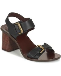 See By Chloé - Sb28221 Women's Sandals In Black - Lyst