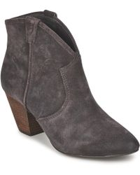Ash - Jalouse Women's Low Ankle Boots In Grey - Lyst