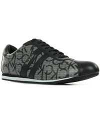 Calvin Klein Lage Sneakers Gayla Iconogram - Grijs