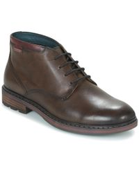 Pikolinos - Caceres M9e Men's Mid Boots In Brown - Lyst