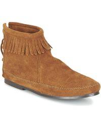 Minnetonka - BACK ZIP BOOT Boots - Lyst