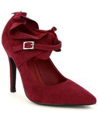 Cendriyon Escarpins Bordeaux Chaussures Femme Chaussures escarpins - Rouge
