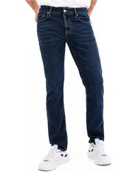 Guess M0YAN2 D4301 angels Jeans skinny - Bleu