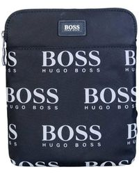 f92cb7abea BOSS - Bag Messenger Model Quot iconic Szip Env 50402921 Quo Men s Shoulder  Bag In