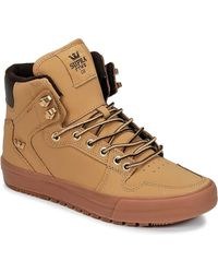 Supra Vaider Cw Shoes (high-top Trainers) - Brown