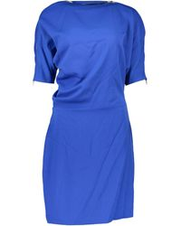 Guess 92G7658177Z femmes Robe en Autres - Bleu