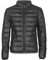 Guess Veste STRETCH PU QUILTED - Noir