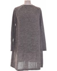 New Look Robe Courte 40 - T3 - L Robe - Gris