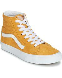 Vans Hoge Sneakers Sk8-hi - Geel