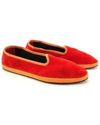 Allagiulia Pantuflas Zapatillas Friulane Pantelleria Mujer - Naranja