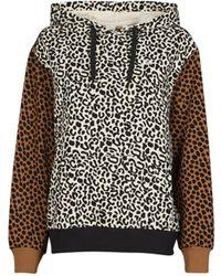 Vans Sweatshirt WILD PATCHWORK HOODIE - Braun