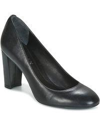 Lauren by Ralph Lauren - Maddie Women's Court Shoes In Black - Lyst