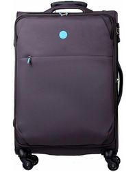 Słoń Torbalski 040101s02 Soft Suitcase - Purple