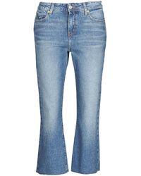 Tommy Hilfiger Straight Jeans Katie Crop Flare - Blauw